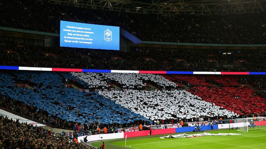 England V France Live From Wembley
