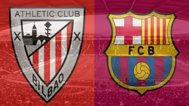 Athletic Bilbao vs. Barcelona, La Liga