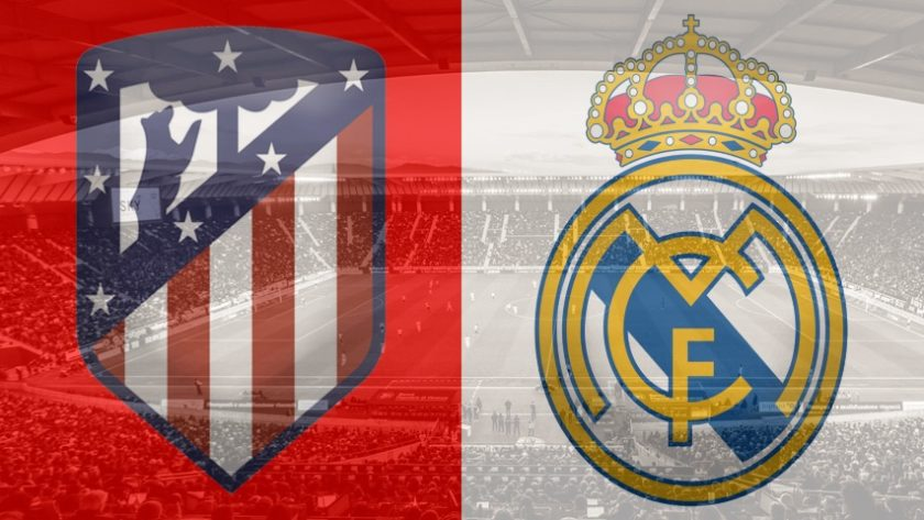 Atletico Madrid vs. Real Madrid, La Liga