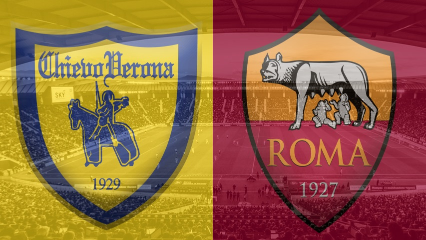 Chievo vs. Roma, Serie A