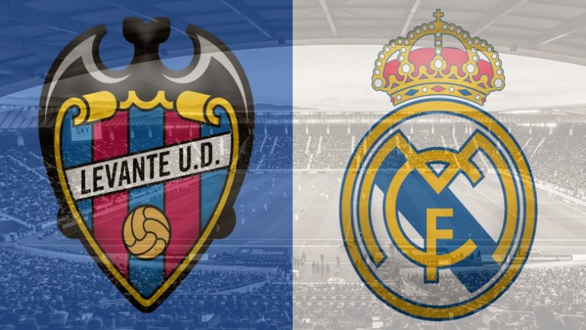 Levante vs. Real Madrid, La Liga