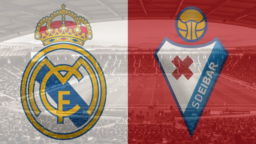 Real Madrid vs. Eibar, La Liga