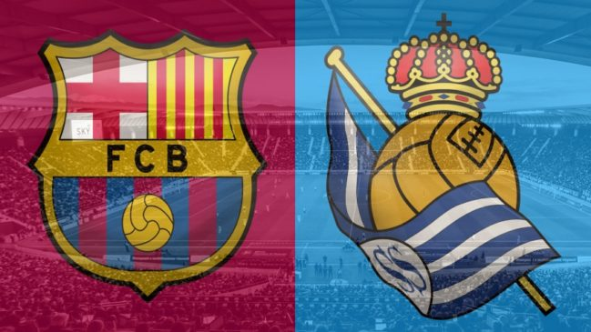 Barcelona vs. Real Sociedad, La Liga