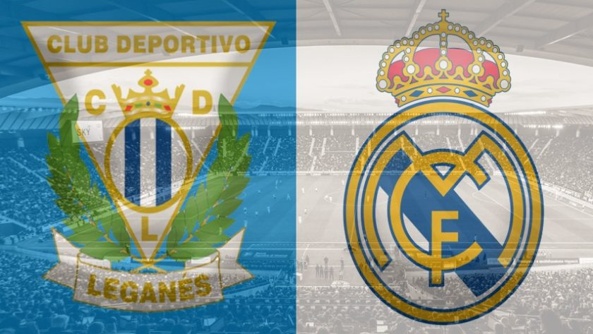 Leganes vs. Real Madrid, La Liga
