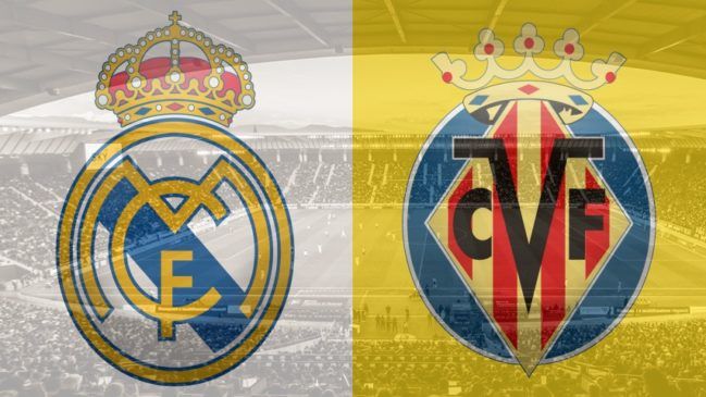Real Madrid vs. Villarreal, La Liga