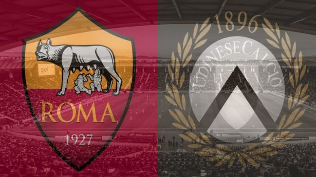 Roma vs. Udinese, Serie A