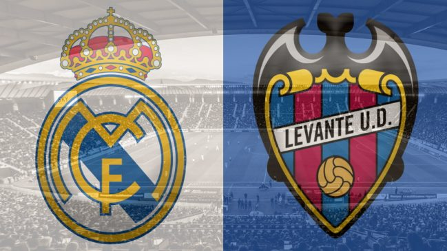 Real Madrid vs. Levante, LaLiga