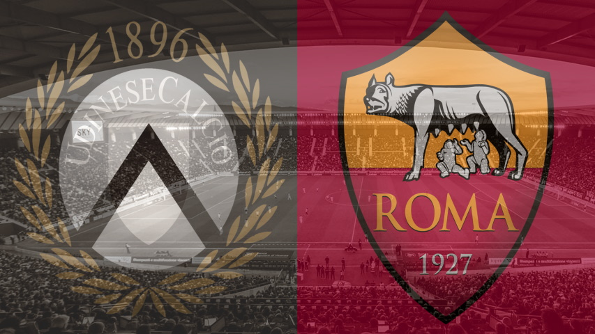 Udinese vs. Roma, Serie A