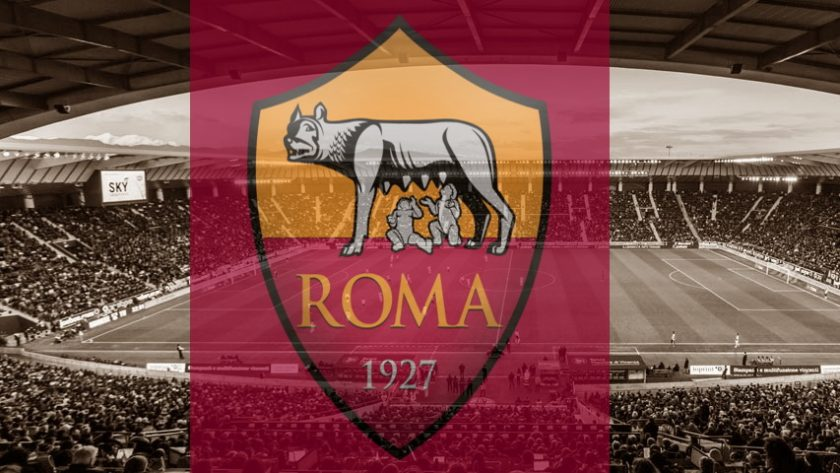 Club crest of Serie A's Roma