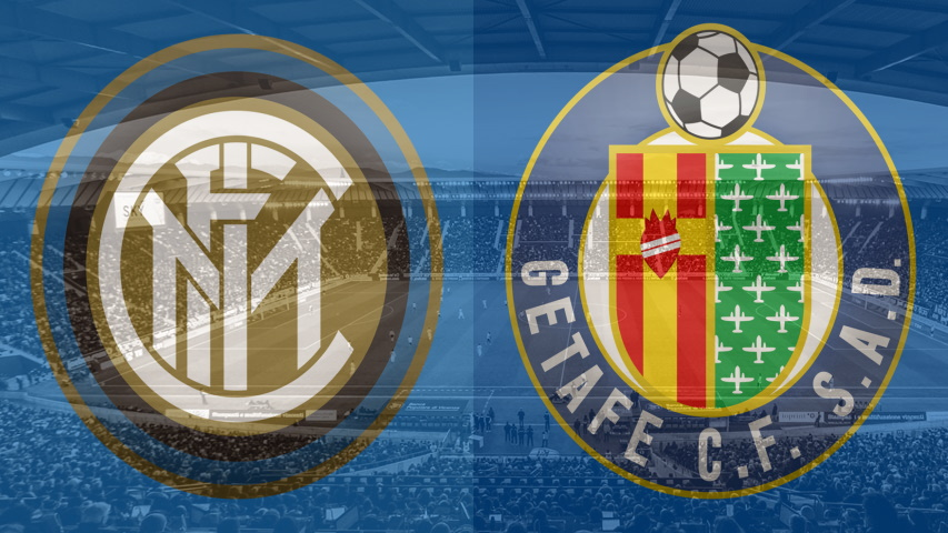 Inter and Getafe club crests