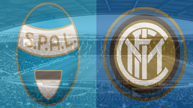 SPAL and Inter club crests
