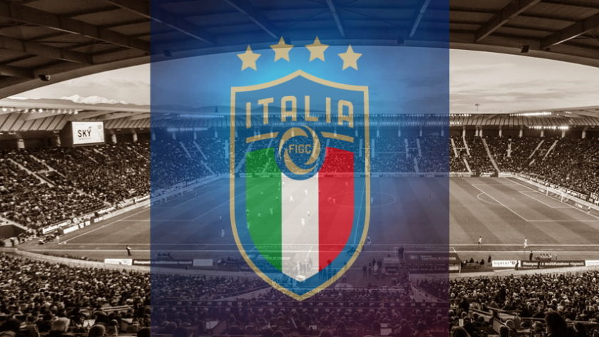 Italy national team crest