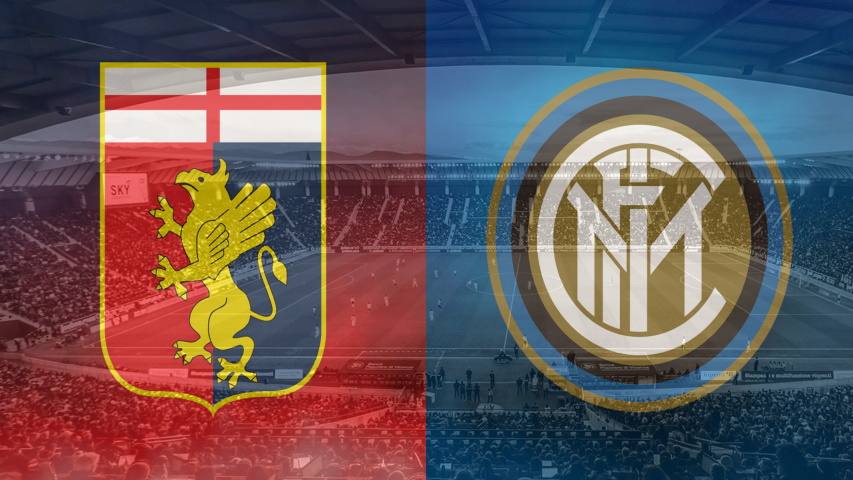 Genoa and Inter crests ahead of their Serie A fixture