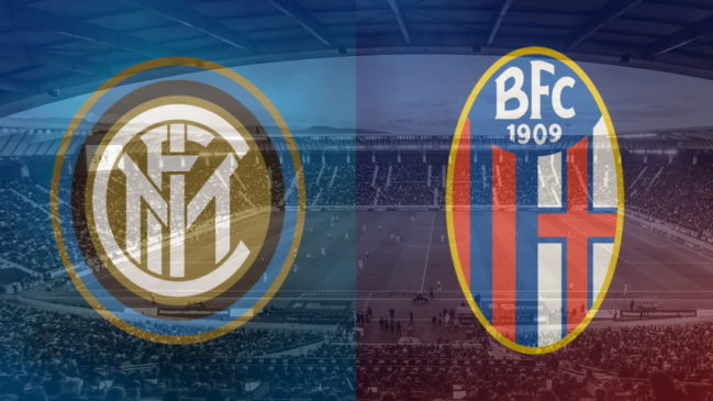 Inter and Bologna club crests