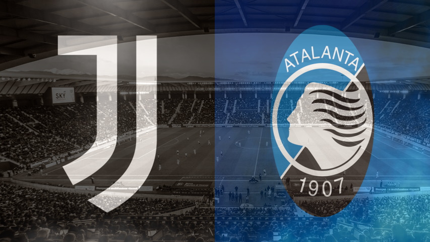Juventus and Atalanta club crests