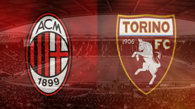 Milan and Torino club crests