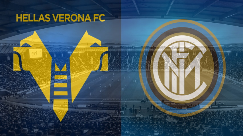 Verona and Inter clubs crests