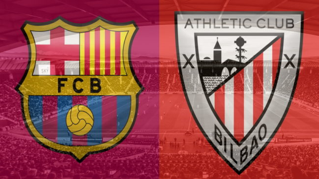 Barcelona and Athletic Club crests