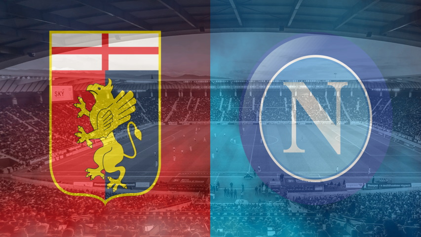 Genoa and Napoli club crests