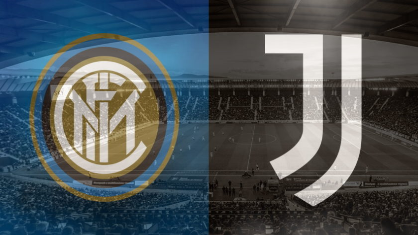 Inter and Juventus club crests