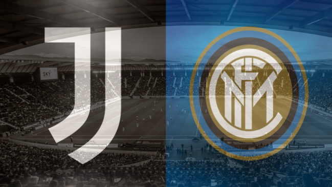 Juventus and Inter club crests