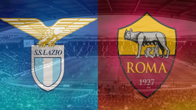 Lazio and Roma club crests