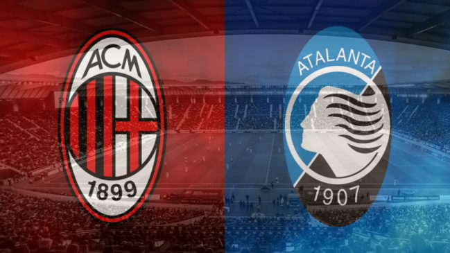 Milan and Atalanta club crests