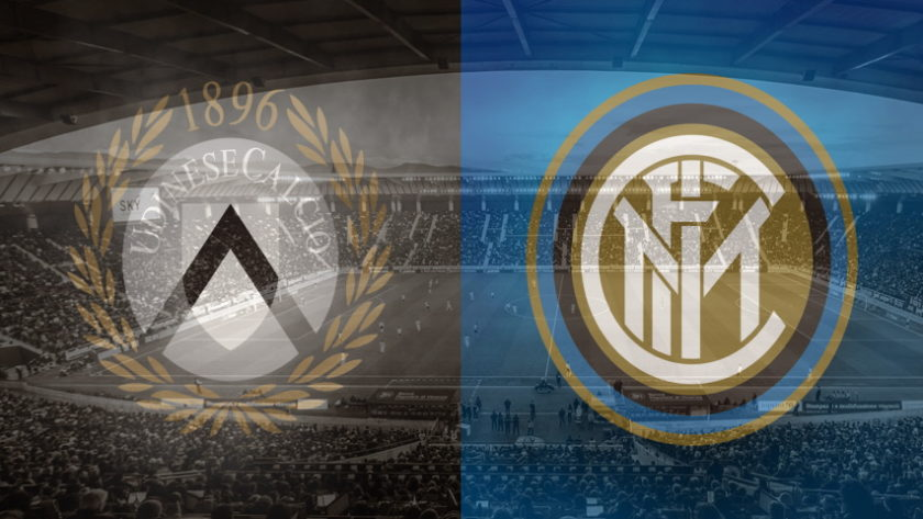 Udinese and Inter club crests