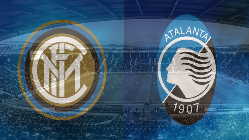 Inter and Atalanta club crests