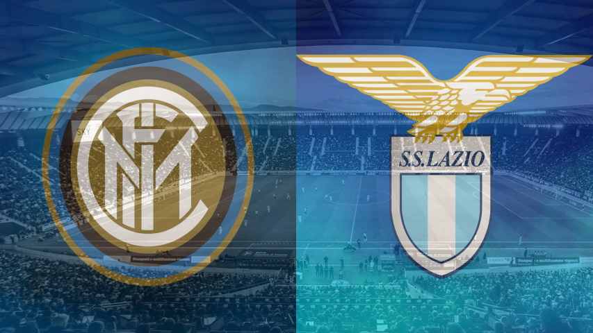 Inter and Lazio club crests