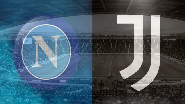 Napoli and Juventus club crests