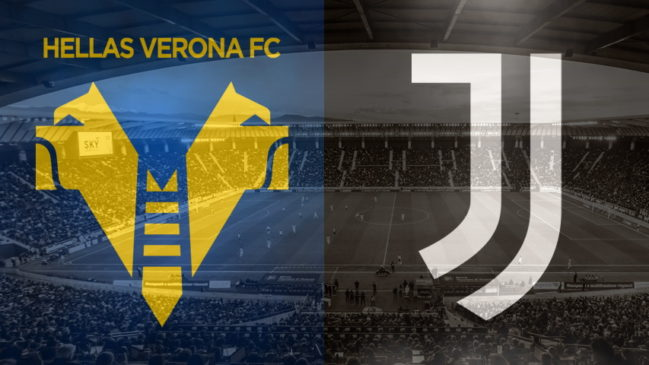 Verona and Juventus club crests