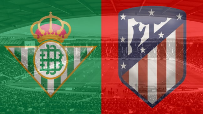 Real Betis and Atletico Madrid club crests