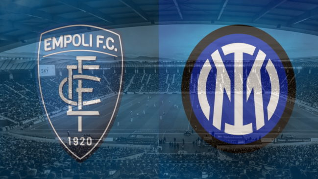 Empoli and Inter club crests